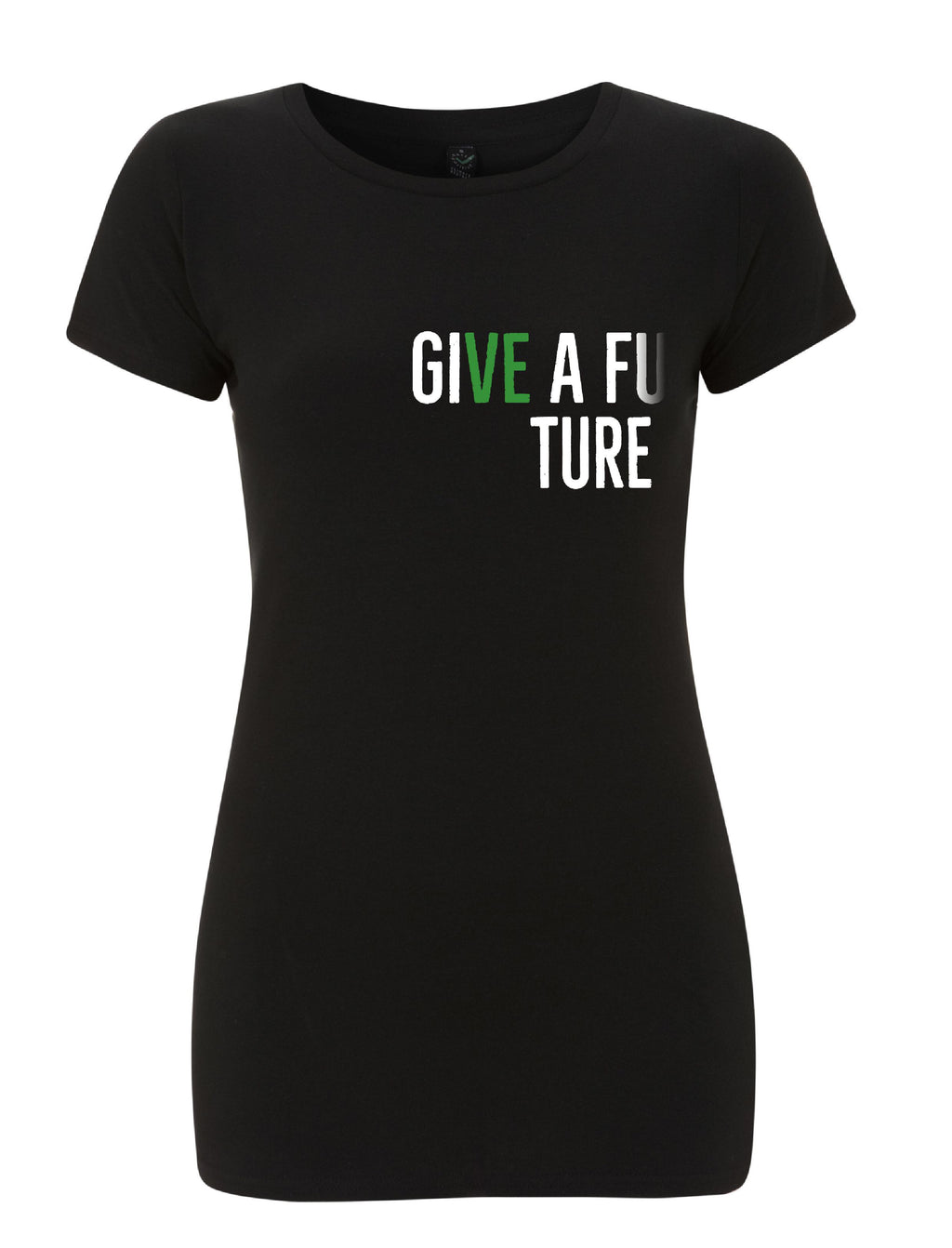 GIVE A FUTURE Women's Slim Fit Organic Cotton T-shirt