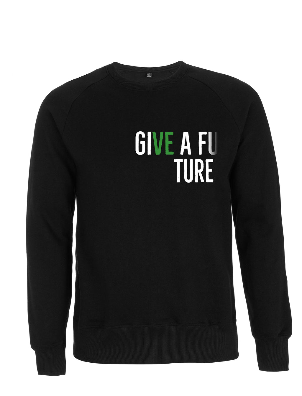 GIVE A FUTURE Unisex Organic Cotton Sweatshirt