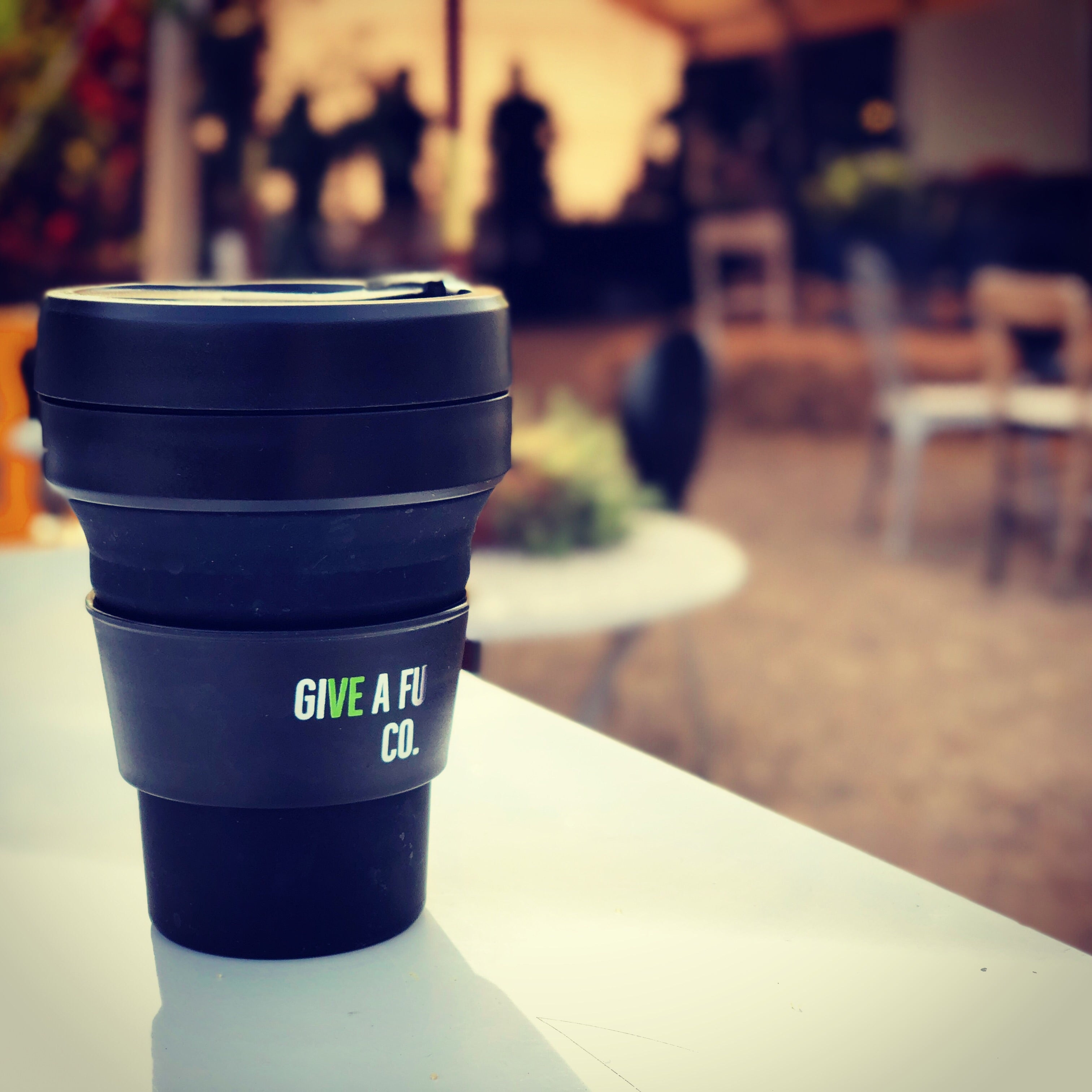 GIVE A FU CO. Coffee Cup - Reusable and Collapsable
