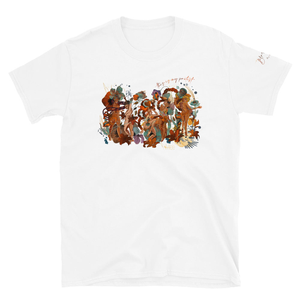 "Kiki Kitty's ""Black Joy"" Art Unisex T-Shirt"