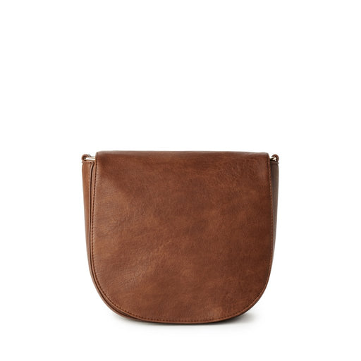 HAYLEY Rounded Flap Crossbody Bag