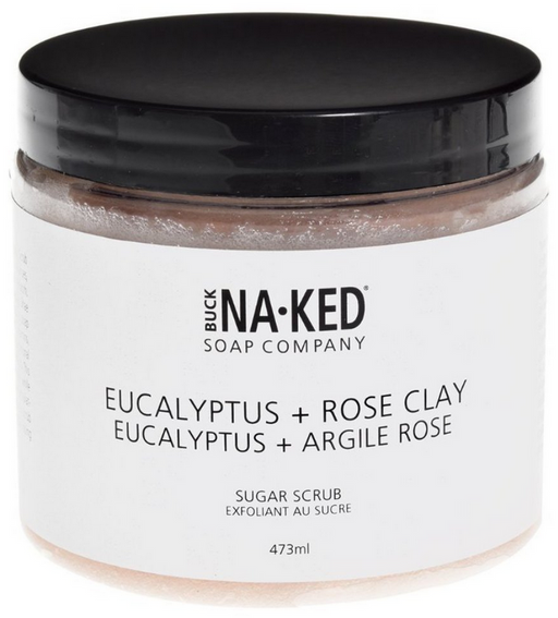 Eucalyptus & Rose Clay Sugar Scrub