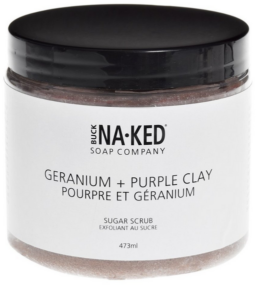 Geranium & Purple Clay Sugar Scrub