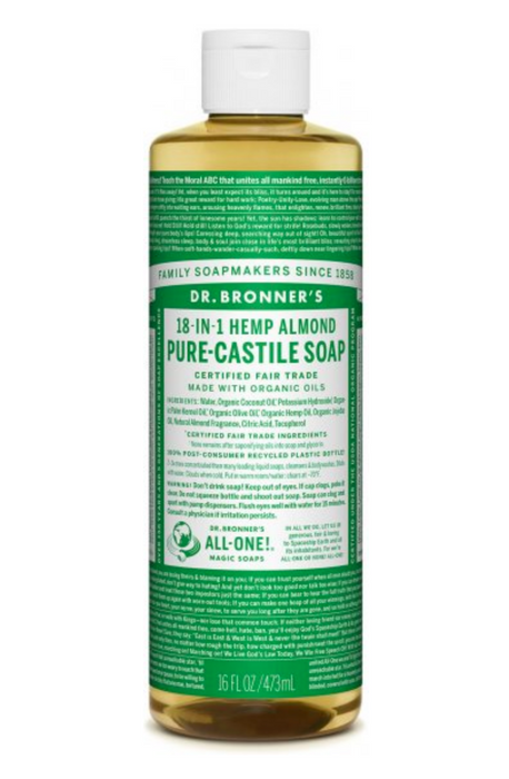 Almond Pure-Castile Liquid Soap