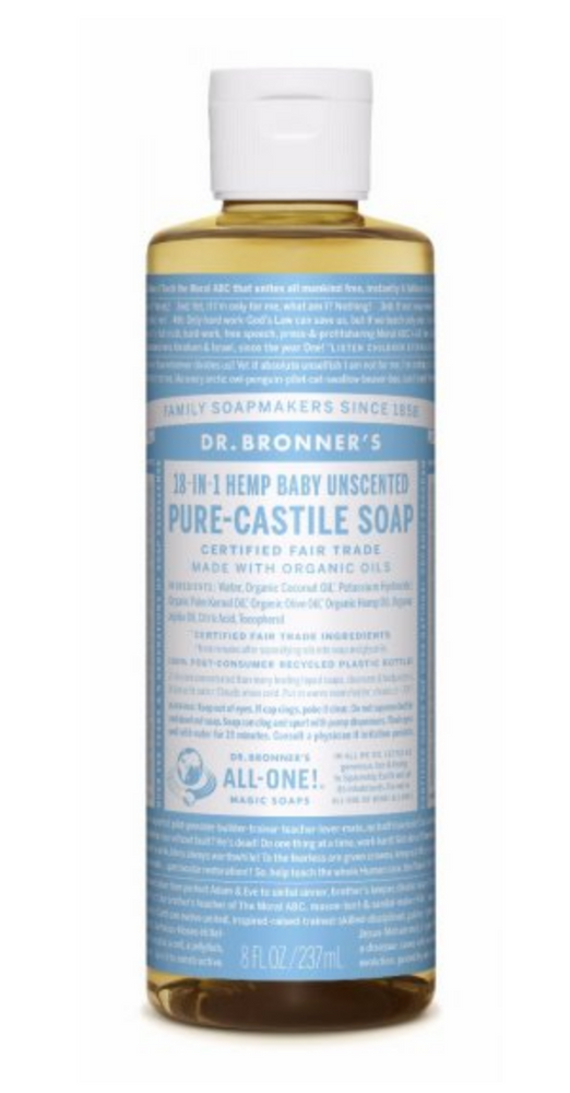 Baby Unscented Pure-Castile Liquid Soap