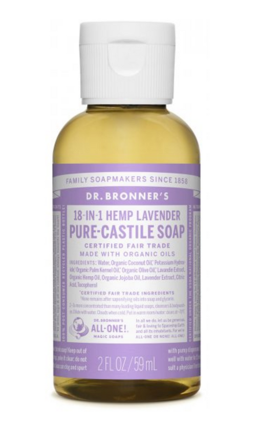 Lavender Pure-Castile Liquid Soap