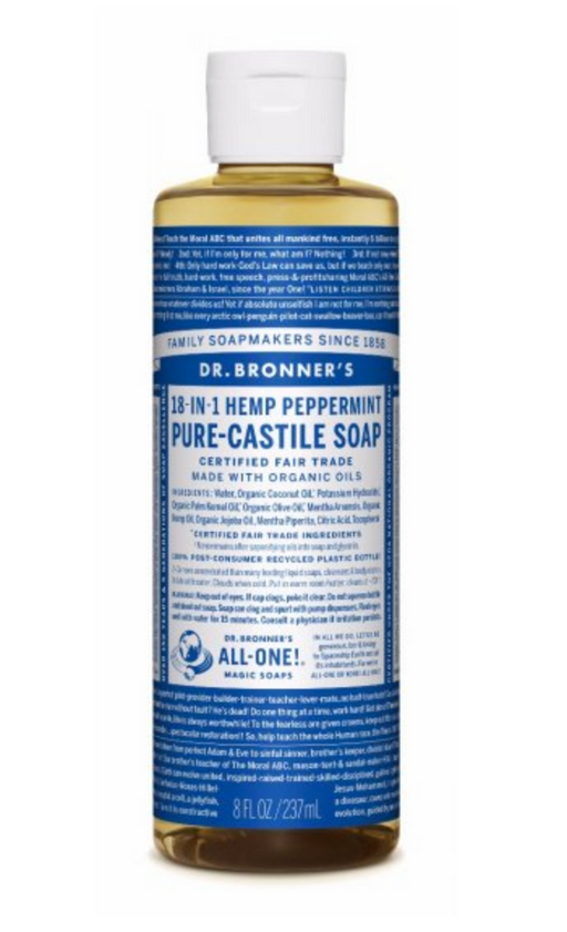 Peppermint Pure-Castile Liquid Soap