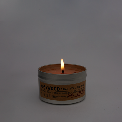 ROSEWOOD | 100% Pure Essential Oil Candle