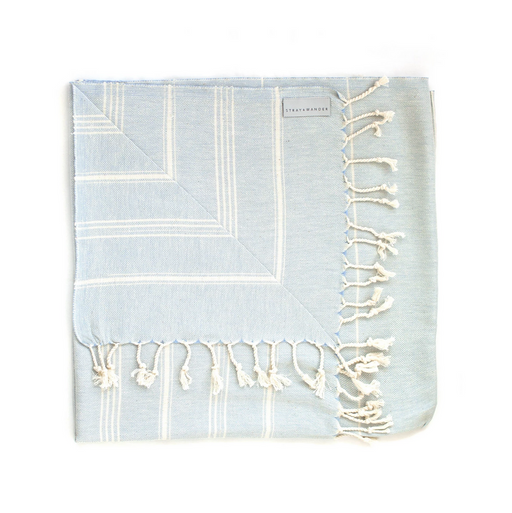 COVE Turkish Towel | Pastel Blue