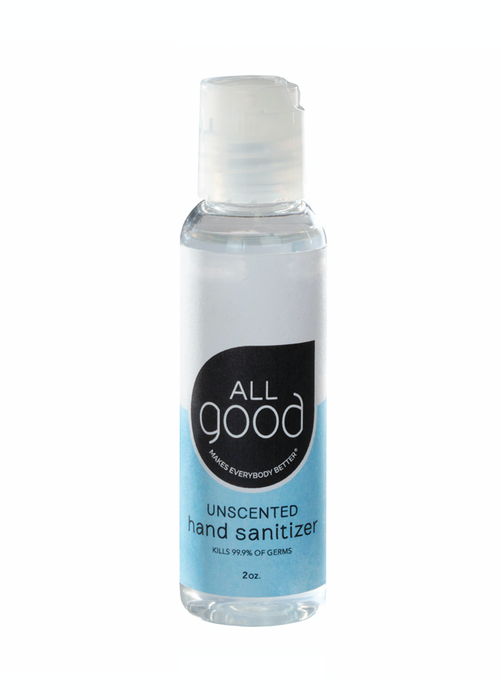 Unscented Hand Sanitizer Gel 2oz. / 60mL *IN STOCK*