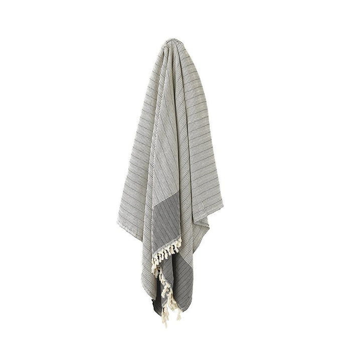 REPOSE Turkish Blanket | Black