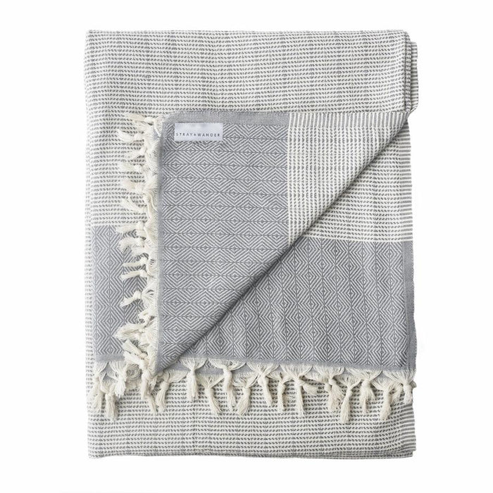 REPOSE Turkish Blanket | Grey