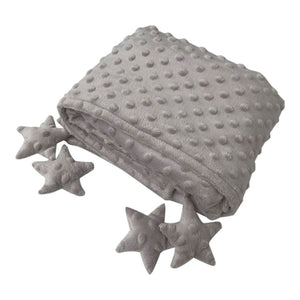Counting Stars Blanket - Grey