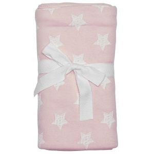 Scribble Star Blanket - Pink