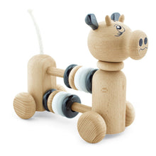 Load image into Gallery viewer, Wooden Cow With Counting Beads - Ruben
