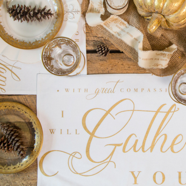Gather Together Placemats (Set of 4)