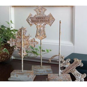 His Savior Names Stands (3-pack)