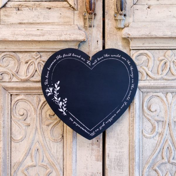 We Love Chalkboard (Limited Quantity Available)