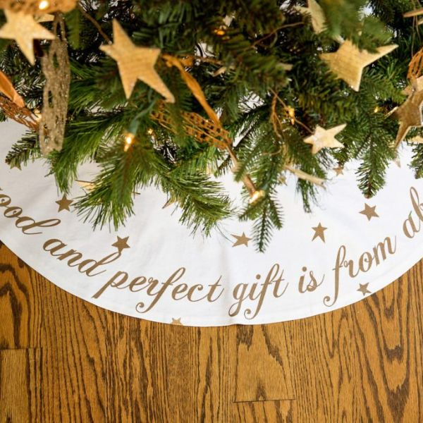 Christmas Tree Skirt (Best Seller-Limited Quantity)