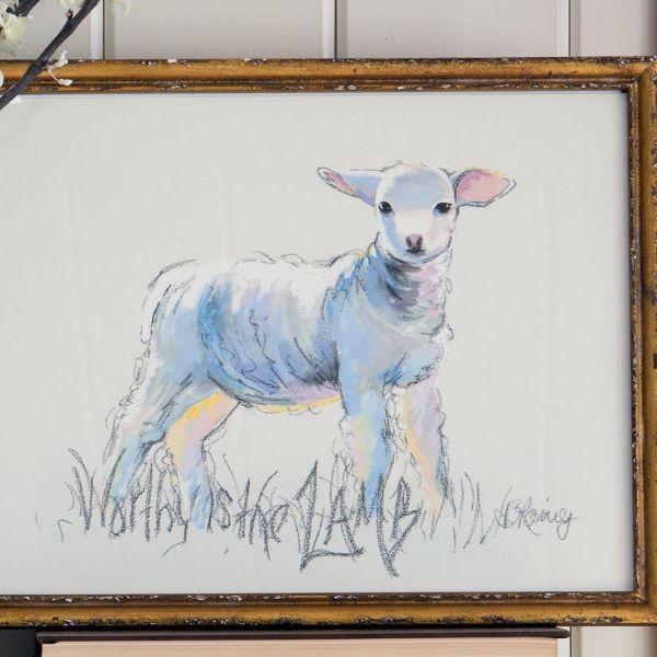 Worthy Is the Lamb Print