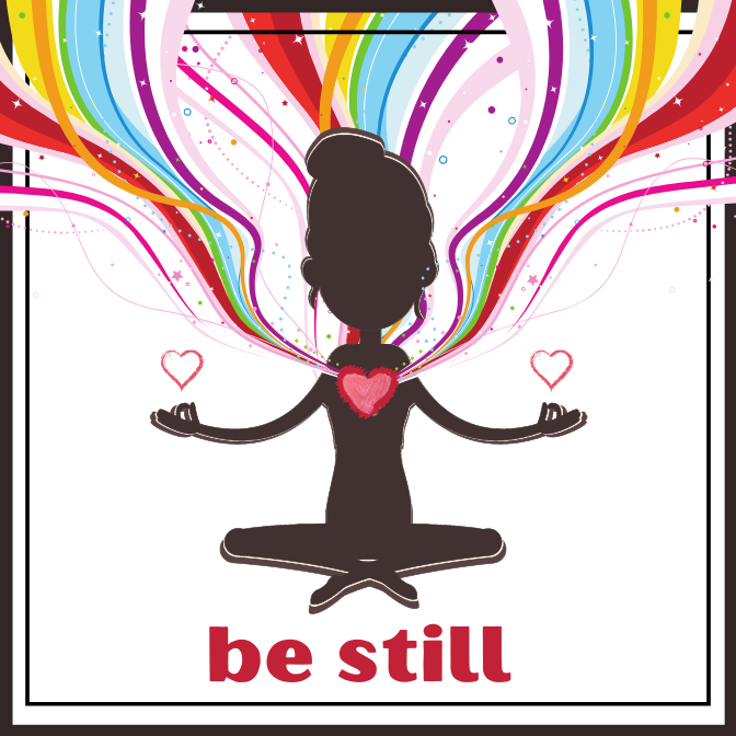 Be Still Acrylic Magnet