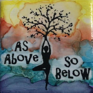 As Above So Below Magnet