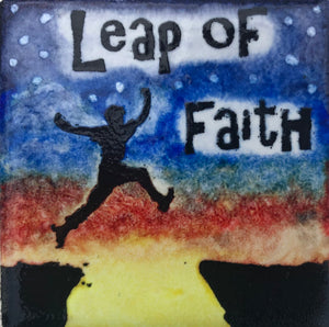 Leap of Faith Magnet