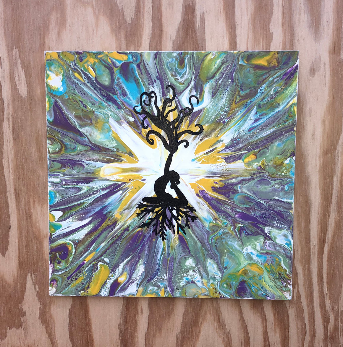 Spiritual Growth Original Art