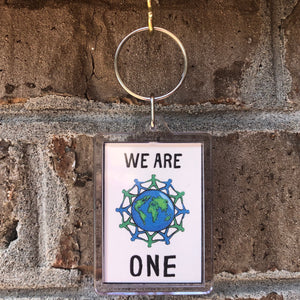 We Are One Keychain