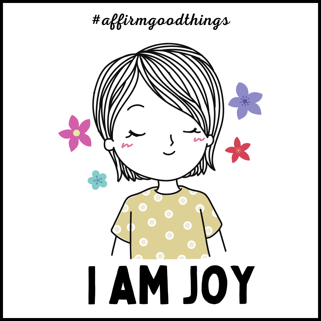 I Am Joy Acrylic Magnet