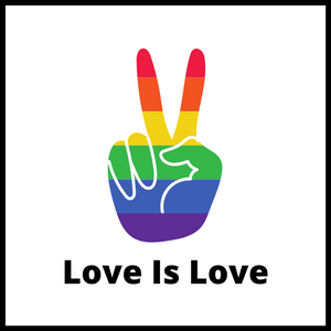 Love Is Love Acrylic Magnet