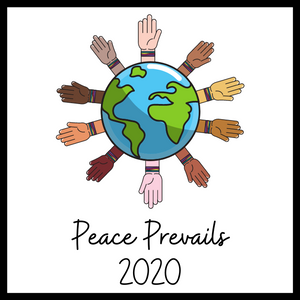 Peace Prevails 2020 Acrylic Magnet