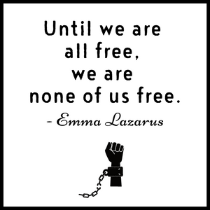 Until We Are All Free Acrylic Magnet