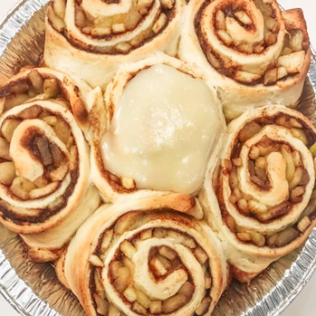 Apple Pie Cinnamon Rolls, One Dozen