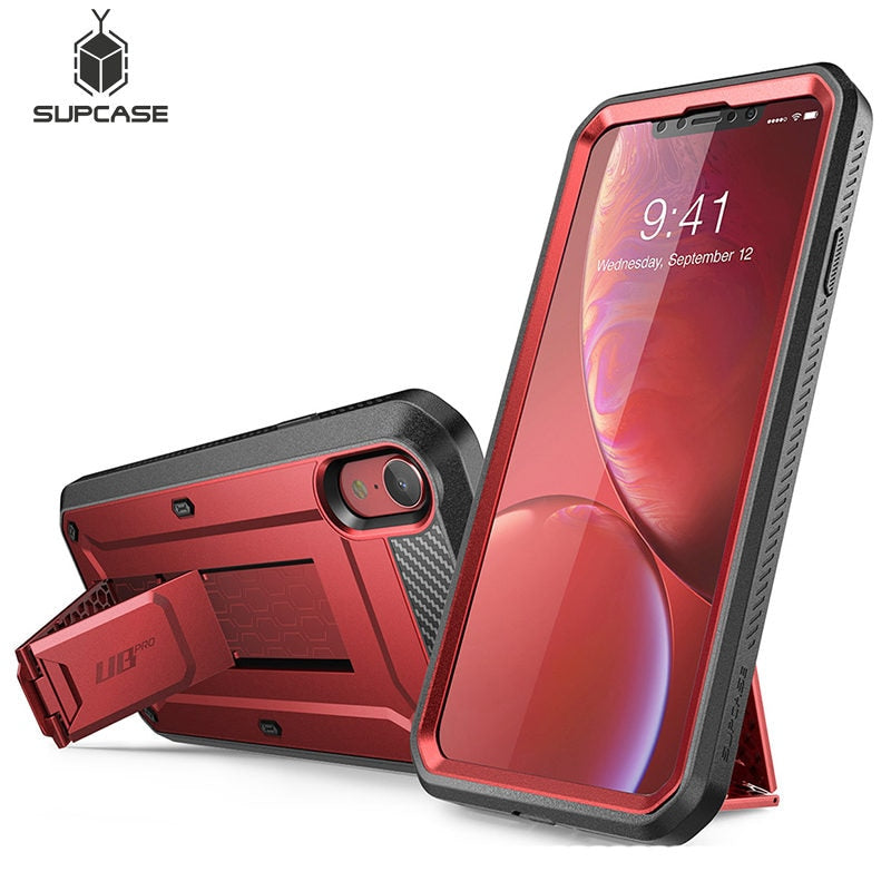 "Colorful Case For iPhone XR 6.1"" Case Pro Full-Body Rugged Holster Cover with Built-in Screen Protector & Kickstand - The Best Phone cases cover,iPhoneCases,HuaweiCases,SamSungCases Cases Covers"