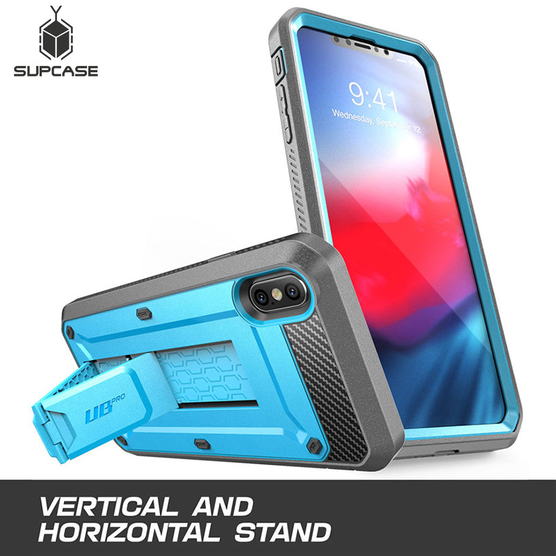 New Cover For iPhone Xs Max Case 6.5 inch  Pro Full-Body Rugged Holster Case with Built-in Screen Protector & Kickstand - The Best Phone cases cover,iPhoneCases,HuaweiCases,SamSungCases Cases Covers