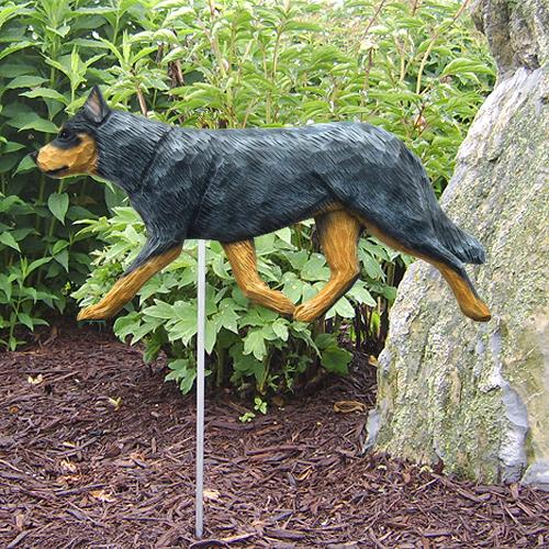 Australian Cattle Dog Garden Stake - Michael Park, Woodcarver