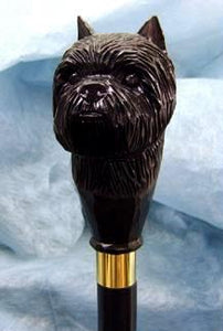 Affenpinscher Walking Stick