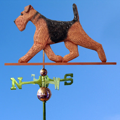 Airedale Weathervane - Michael Park, Woodcarver