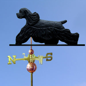 Cocker Spaniel Weathervane - Michael Park, Woodcarver
