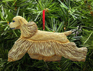 Cocker Spaniel DIG Ornament