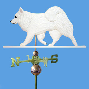 American Eskimo Dog Weathervane - Michael Park, Woodcarver