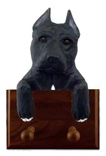 American Staffordshire Terrier Leash Holder