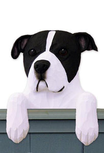 American Staffordshire Terrier (Natural) Door Topper