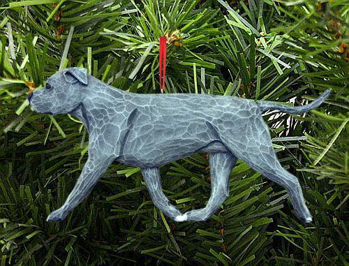 American Staffordshire Terrier (Natural) DIG Ornament
