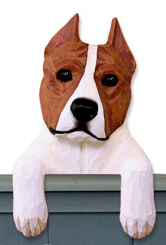 American Staffordshire Terrier Door Topper