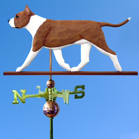 American Staffordshire Terrier Weathervane - Michael Park, Woodcarver