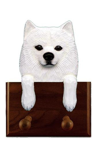 American Eskimo Dog Leash Holder