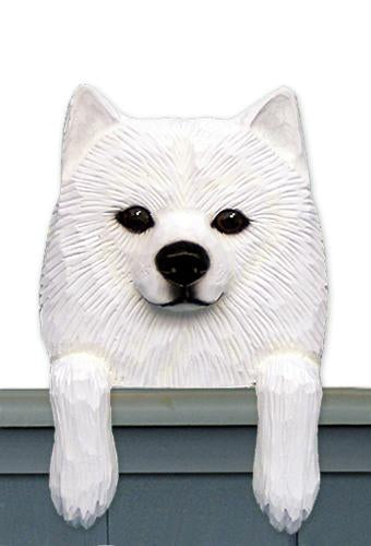 American Eskimo Dog Door Topper