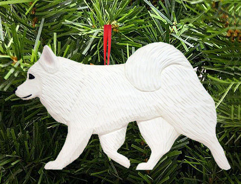 American Eskimo Dog DIG Ornament